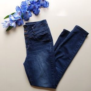 Charlotte Russe Refuge High Waisted Skinny Jeans